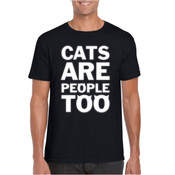 CATS ARE PEOPLE TOO Mens