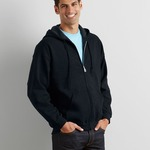 Gildan Zip Hooded Sweatshirt - Same Day Dispatch