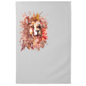 Lion Tea Towel by Briony Jose